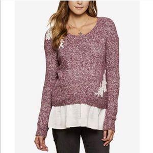 NWOT Jessica Simpson Maternity Sweater/shirt, M